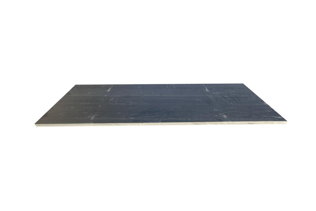 Traverse Ardoise noire Clivée 80X30X3CM