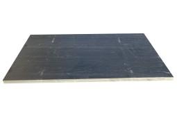 Traverse Ardoise noire Clivée 100X50X3CM