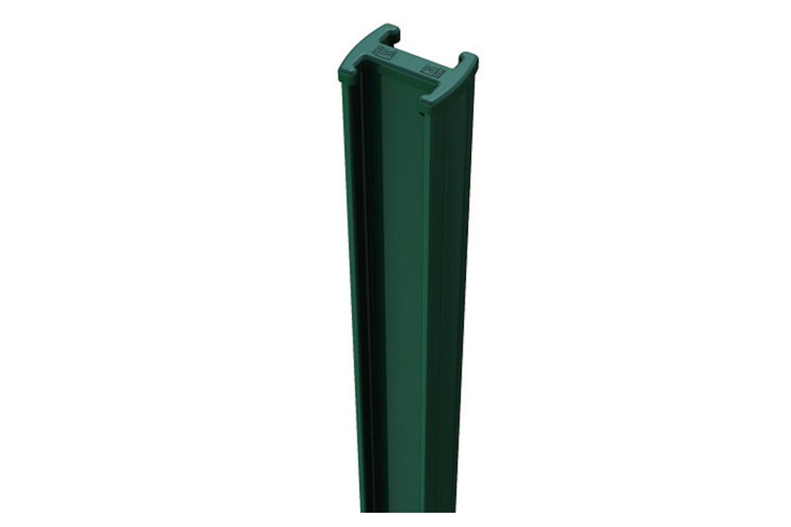 Poteau acier vert easyclip