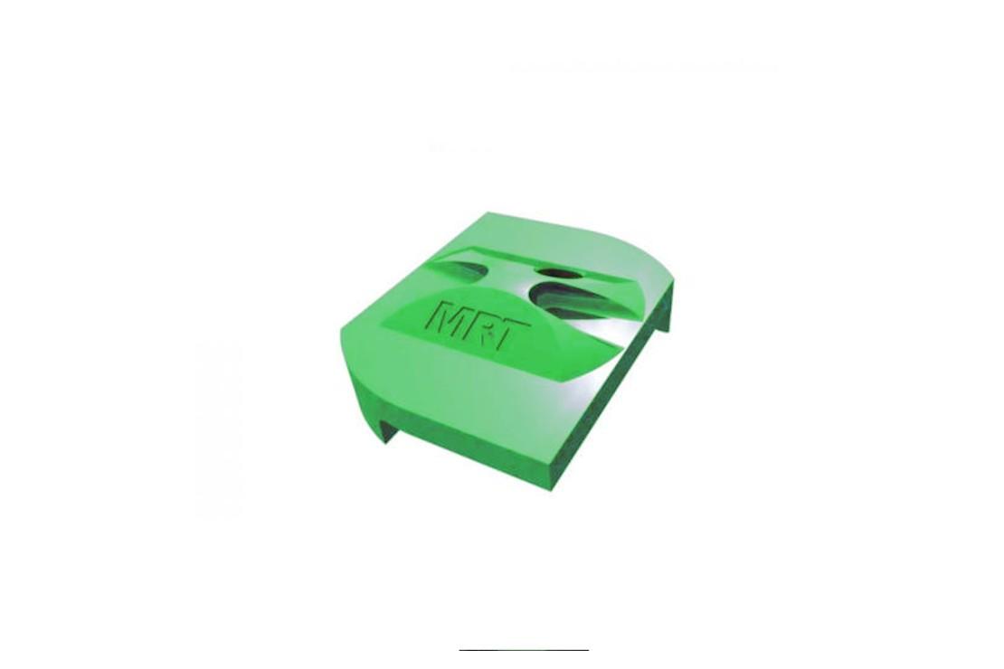 Fixation panneau rigide vert