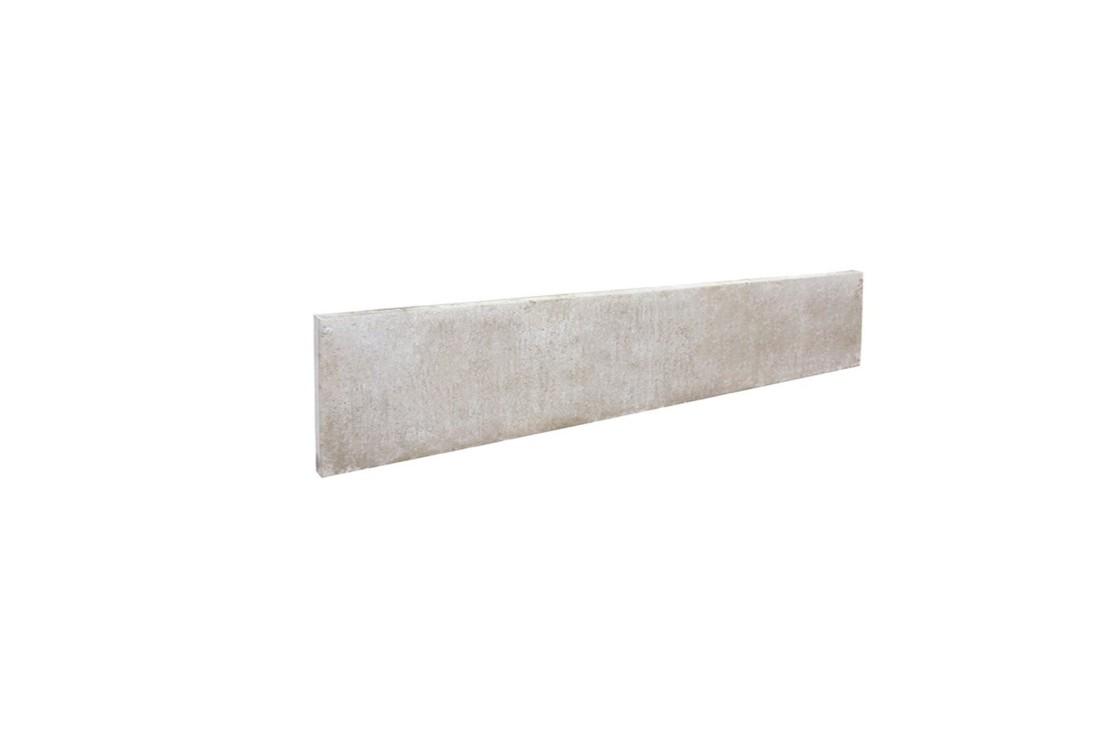 Plaque béton H:25cm L:192cm Ep:3.5cm