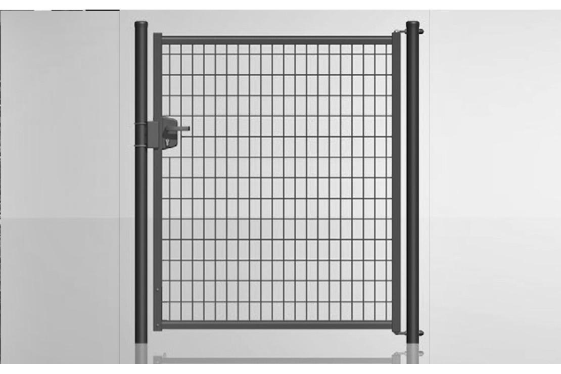 Portillon gris H:120cm