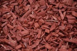 Vrac Paillage coloré rouge 20/40mm
