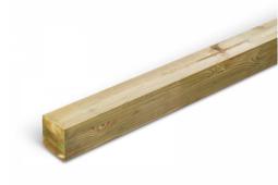 Poteau pin vert 9x9x235 cm