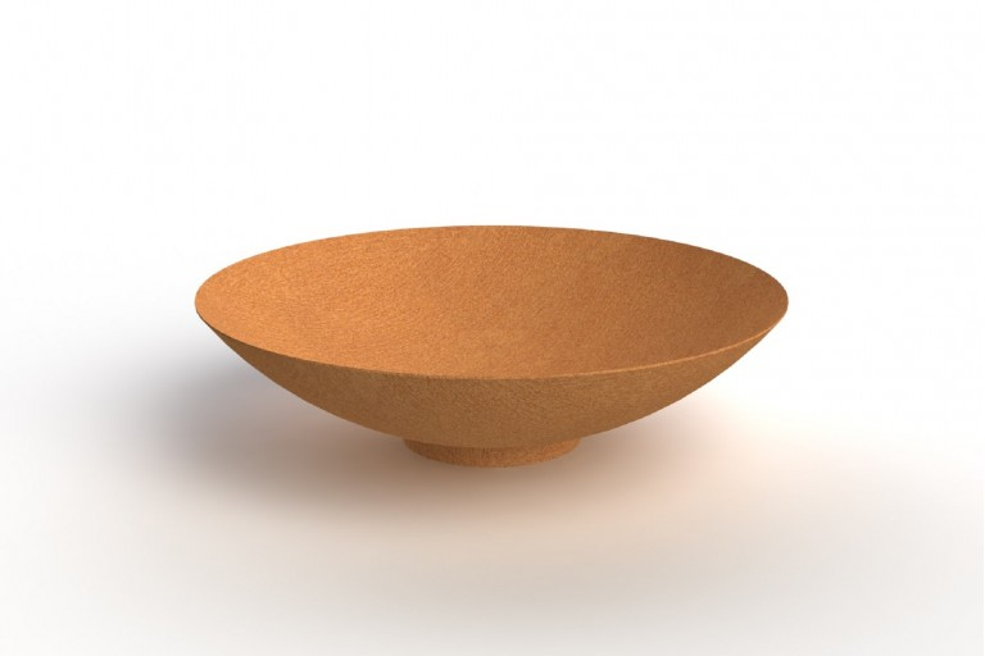 Brasero acier corten diamètre 80 cm