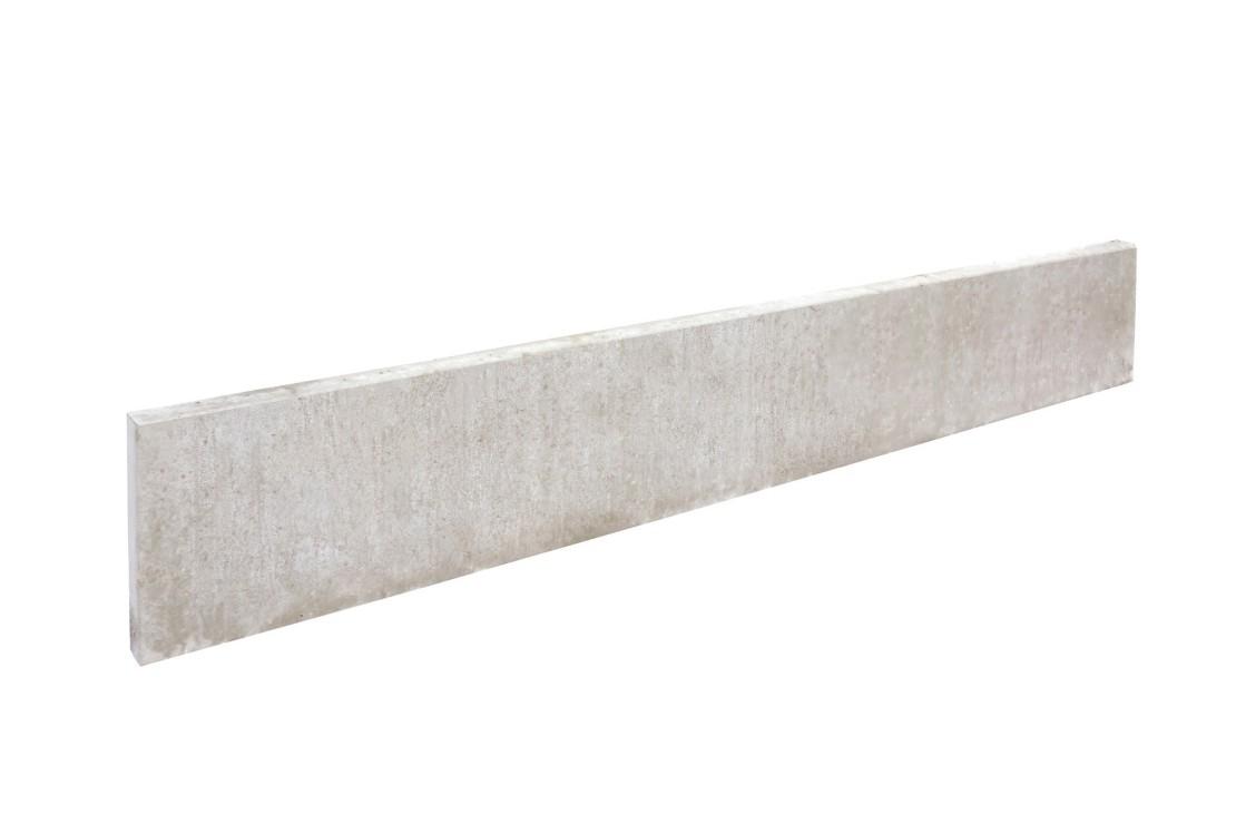 Plaque de soubassement droite 25 cm