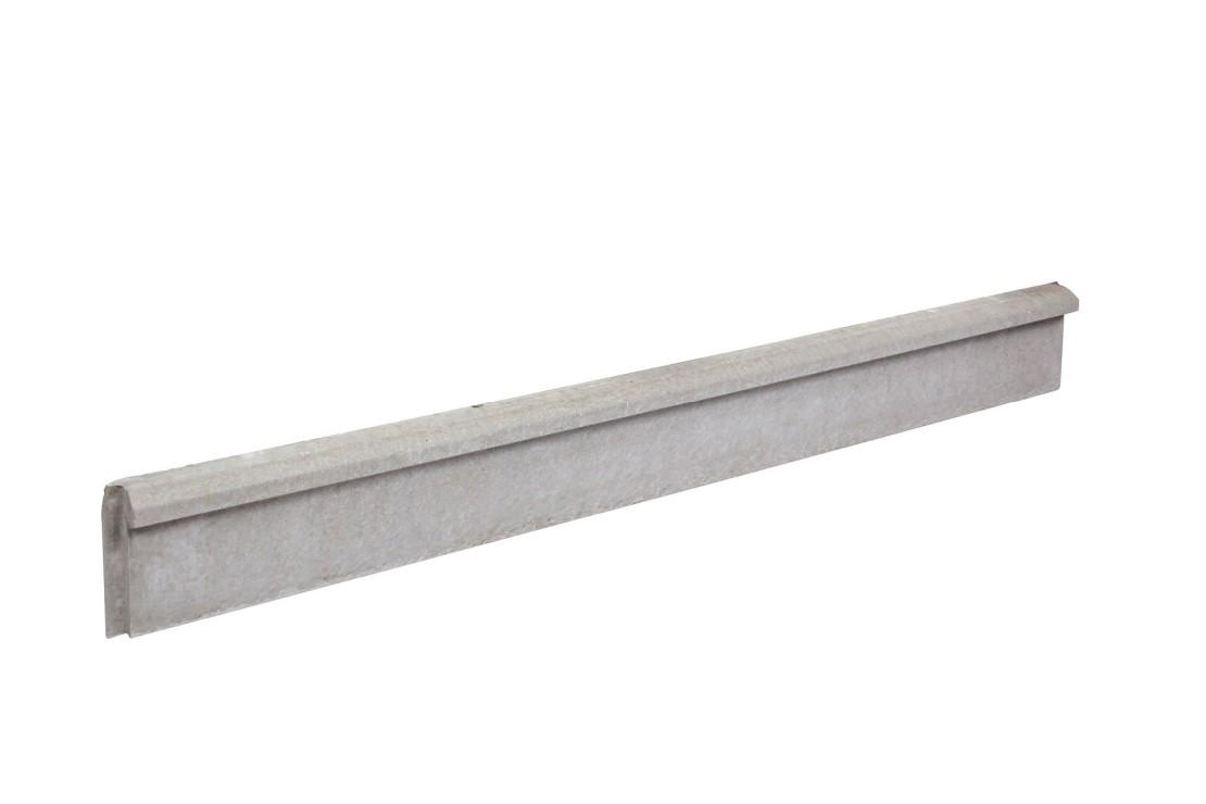 Plaque de soubassement chaperronnée 25 cm