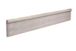 Plaque de soubassement chaperonnée 50 cm