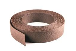 Bordure ecolat chocolat Hauteur 14CM - Rouleau 25ML