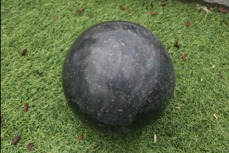 Sphère Granit Noir