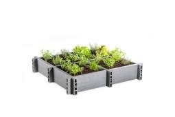 Carré potager Garden Box 120x120x20 cm