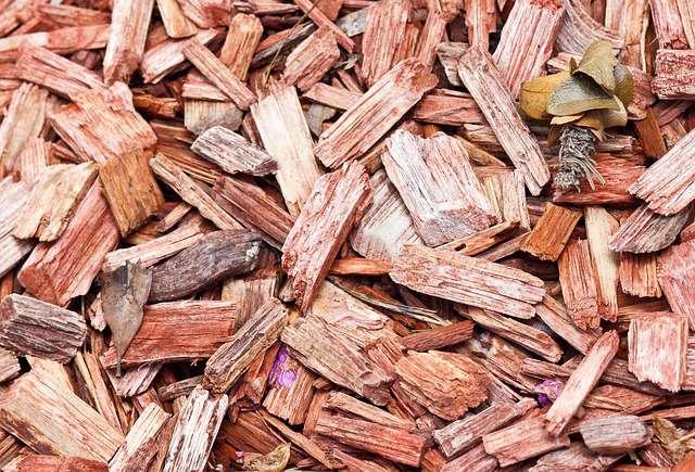 ecorce de pin ou pouzzolane